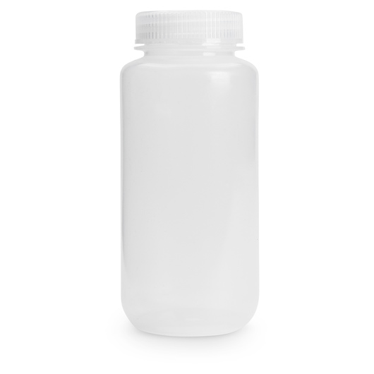 Wide Mouth HDPE Bottle - 16 oz. (473 ml)