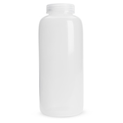 Wide Mouth HDPE Bottle - 32 oz. (946 ml) - Pack of 12