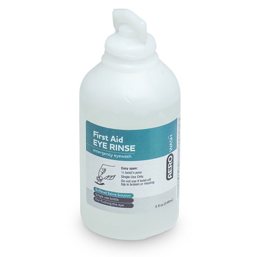 Aero Eyewash Safety Solution - 5 oz. - Pack of 3