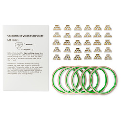 Circuit Stickers Educator Packs - Colored Classroom Pack
