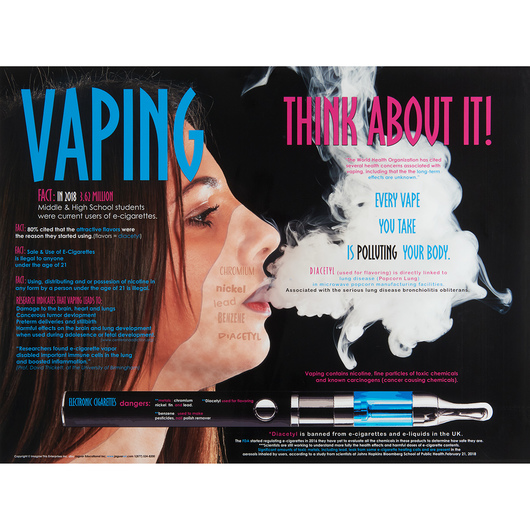 Every Vape You Take Poster