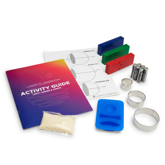 Eyes on Optics: Gelatin Optical Engineering Kit