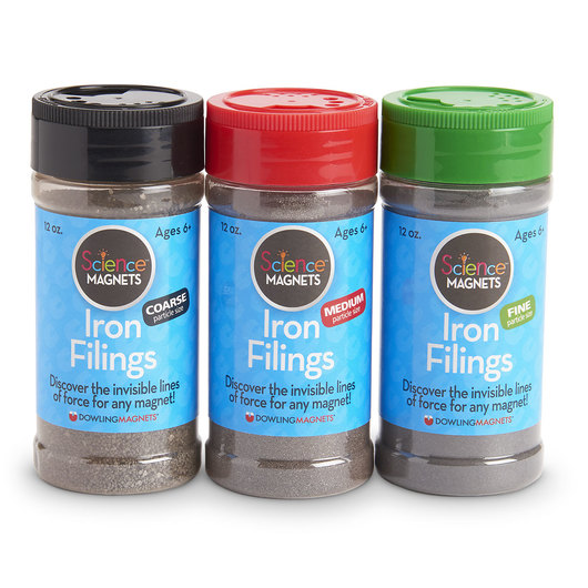 Iron Fillings - 3 Jars