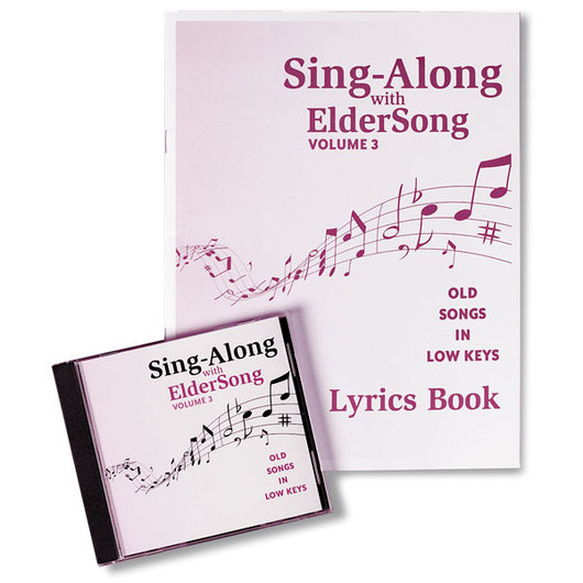 Sing-Along with ElderSong: Volume 3 CD & Book