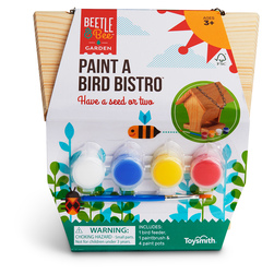 Preassembled Wood Project - Paint a Bird Bistro Kit
