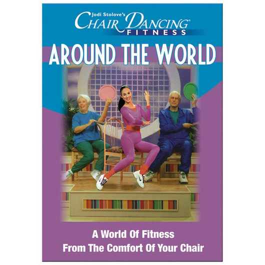 Jodi Stolove's - Chair Dancing® Fitness Around the World - DVD