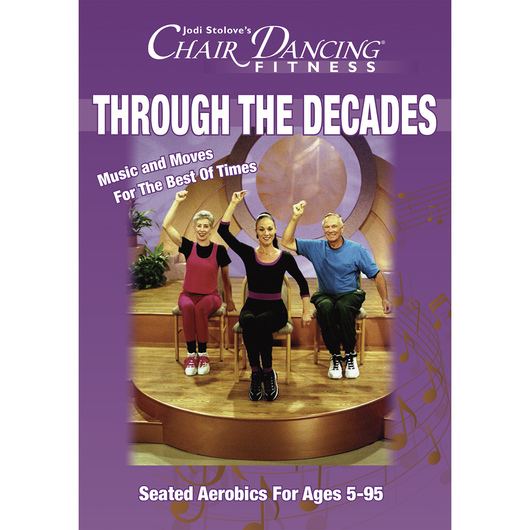 Jodi Stolove's - Chair Dancing® Fitness Through the Decades - DVD