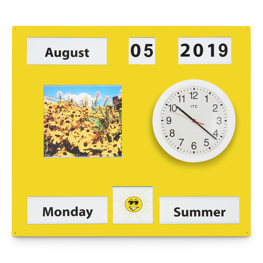 Nasco Reality Orientation Board - Country Yellow
