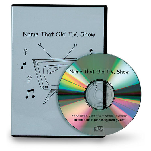 Name that Old T.V. Show CD