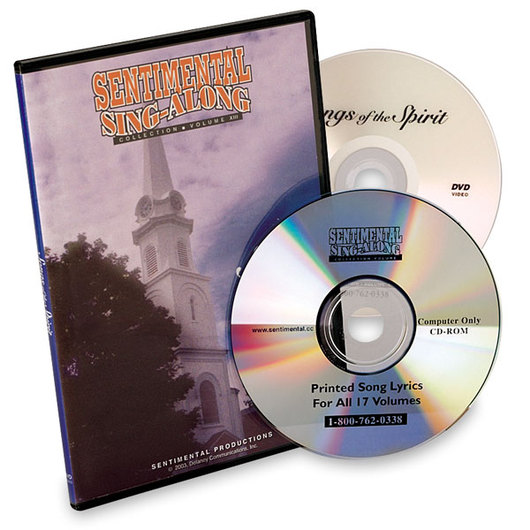 Sentimental Sing-Along Collection: Songs of the Spirit - DVD