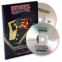Sentimental SingAlong Collection, Patriotic Songs and Other American Favorites,