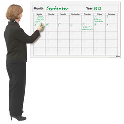Nasco Gigantic Write and Wipe Calendar