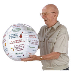 Nasco Name-A-Song Toss-Up Ball