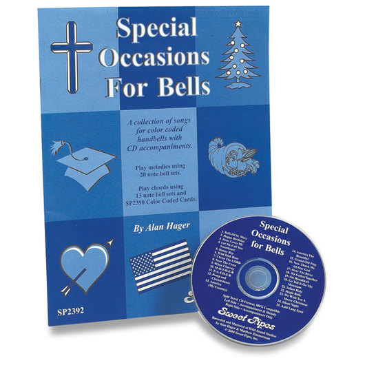 Handbell Song Book & CD Set - Special Occasions for Bells