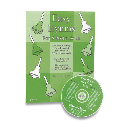 Handbell Song Book & CD Set - Easy Hymns for 8 Note Bells
