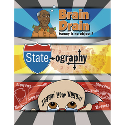 Brain Drain And Other Ideas to Jog Your Noggin!