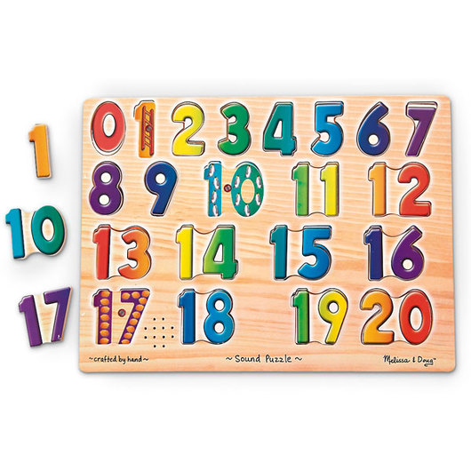 Number Sound Puzzle