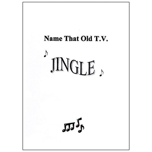 Name that Old T.V. Jingle CD