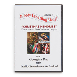 Melody Lane Sing-Along DVD, Christmas Memories,