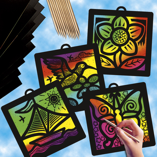 Scratch-Art® Light Catchers® Group Pack