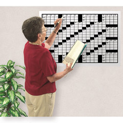 126 Words - 2 ft. x 3 ft. Crossword Puzzle Grid 2 Set of 30 - Book 2 (puzzles 31-60)
