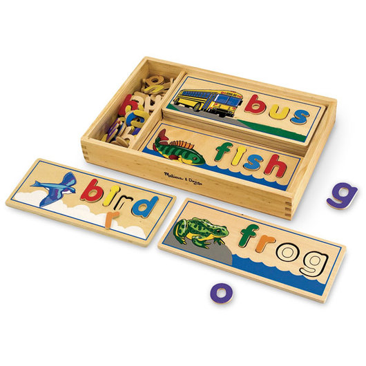 See & Spell Wooden Puzzles