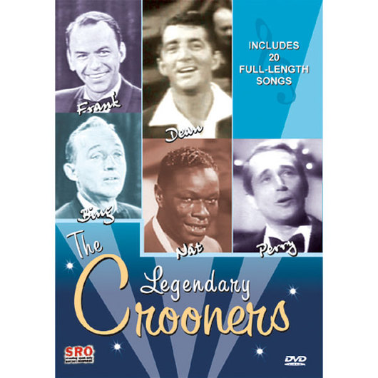 The Legendary Crooners: Frank, Dean, Bing, Nat, and Perry DVD