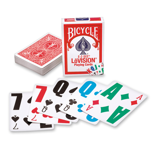 Bicycle E-Z-See® Lovision® Playing Cards