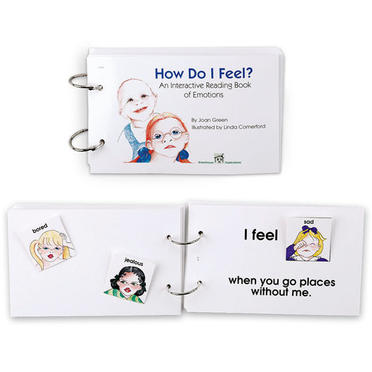 Interactive Reading Book - How Do I Feel?