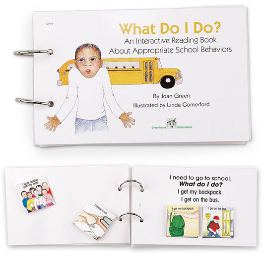 Interactive Reading Book - What Do I Do?