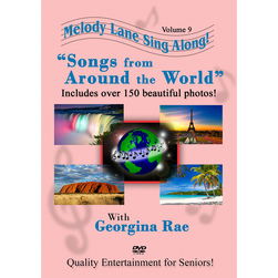 Melody Lane Sing Along DVD, Songs from Around the World