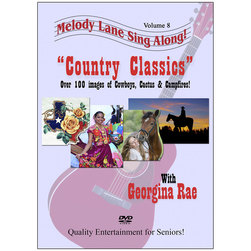 Melody Lane Sing Along DVD, Country Classics