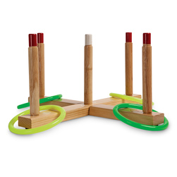 Champion® Sports Wooden Ring Toss Set