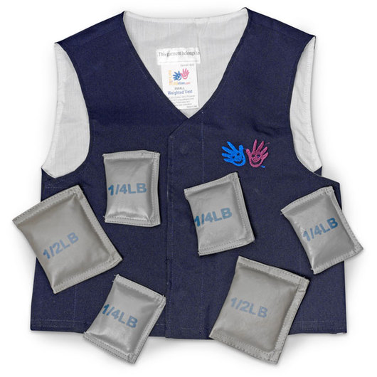 Weighted Vest - Small, Blue