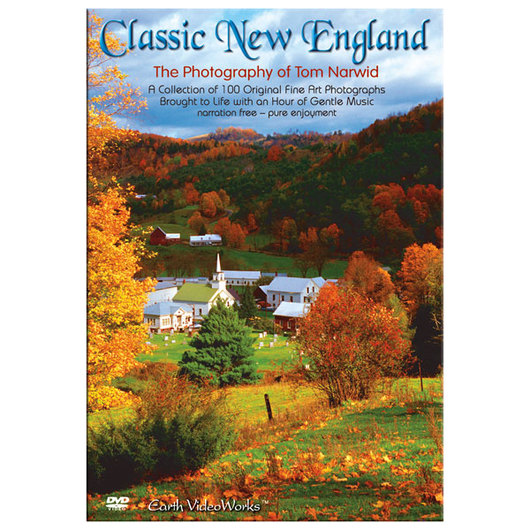 Earth VideoWorks Scenery & Soothing Music - Classic New England DVD
