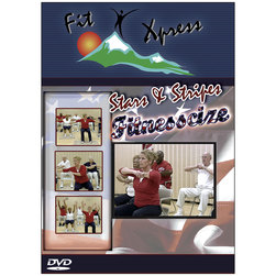 Stars & Stripes Fitnesscize DVD