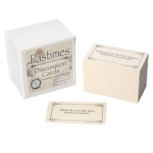 Pastimes Discussion Cards