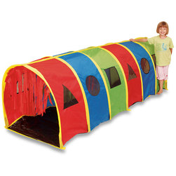 Crawling Tickle Me Tunnel with Geometric Windows