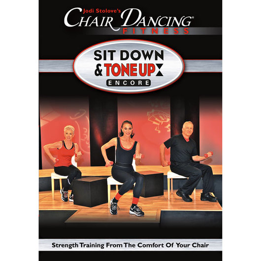 Jodi Stolove's - Chair Dancing® Fitness Sit Down & Tone Up Encore DVD