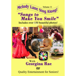Melody Lane Sing Along DVD, Songs to Make You Smile