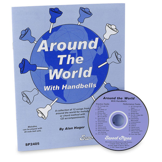 Handbell Song Book & CD Set - Around the World with Handbells