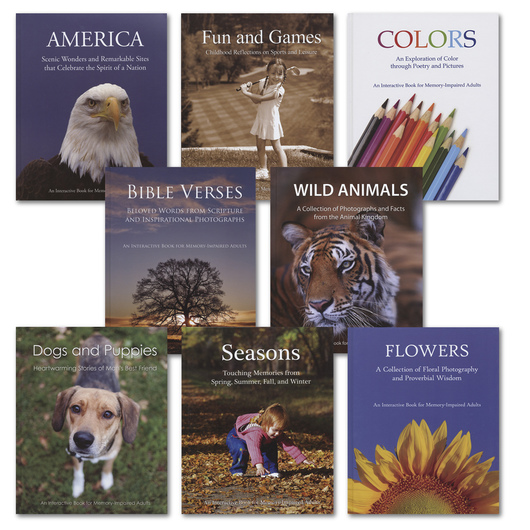 Interactive Memory Books - Complete Set of 8 Conversation Starters