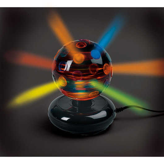 6 in. Rotating Disco Ball