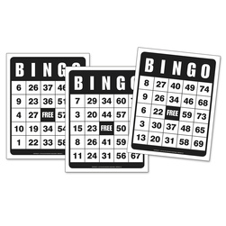 Giant Laminated Bingo Cards