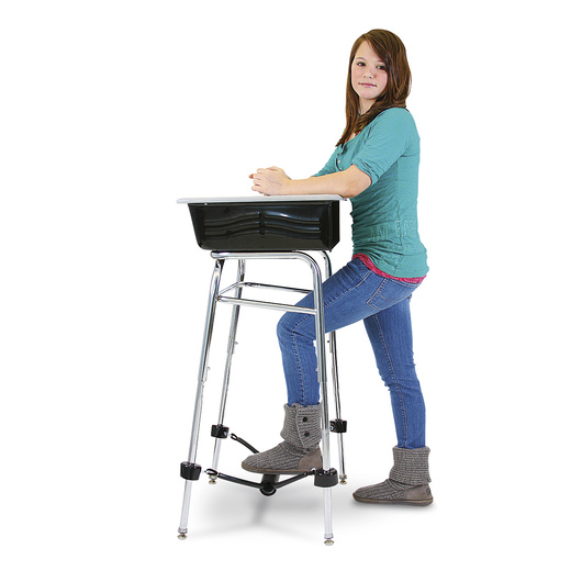Standing Desk Conversion Kit - 1 in. dia. x 24 in. Long Leg Extension