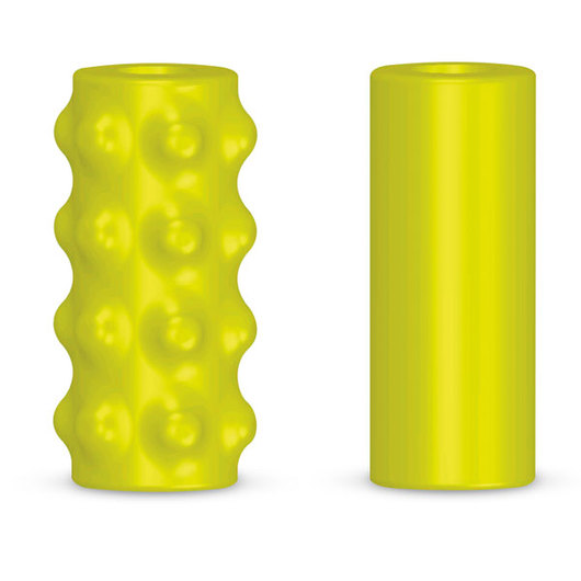 Chew Stixx Unflavored Regular Pencil Topper - Yellow