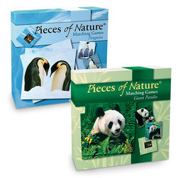 Pieces of Nature Matching Game