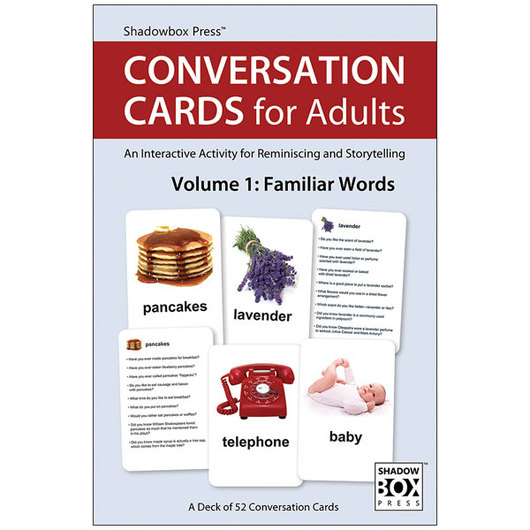 Conversation Cards for Adults Vol. 1