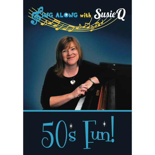 Sing Along with Susie Q DVD - 50's Fun