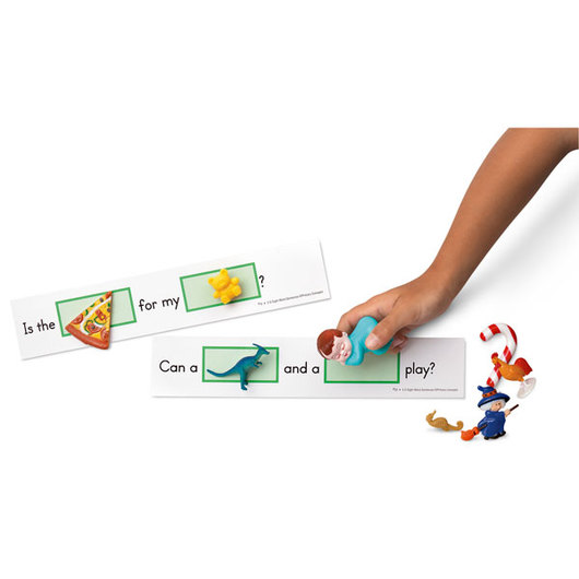 3-D Sight Word Sentences - Pre-Primer